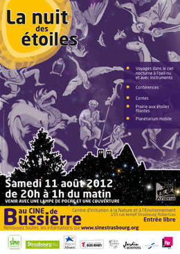 Nuit des étoiles (Ciné de Bussierre)