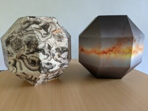 Maquettes de globes célestes